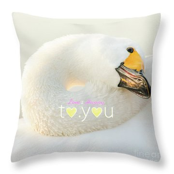 To You #001 Throw Pillow