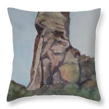 Toad Rock Throw Pillow
