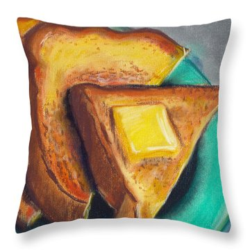 Toast Of The Town Throw Pillow