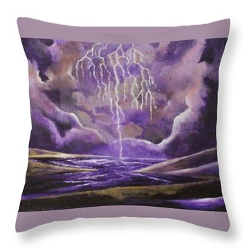Toccata And Fugue Throw Pillow