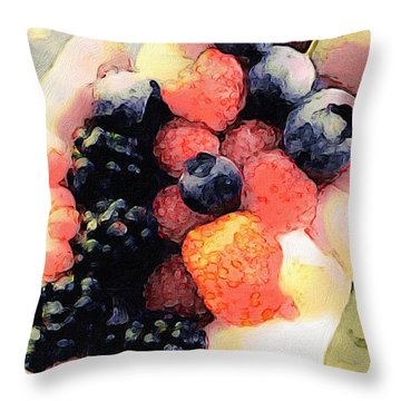 Today's Harvest Throw Pillow