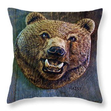Together Again Throw Pillow by Ron Haist