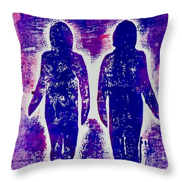 Together Always  Throw Pillow