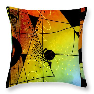 Together Throw Pillow by Ann Powell