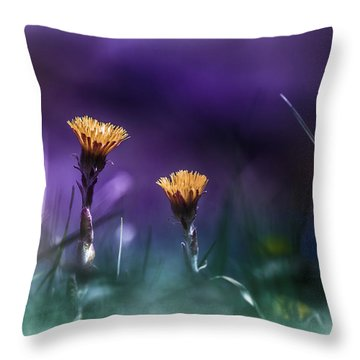 Together Throw Pillow by Bulik Elena