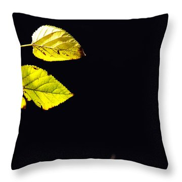 Together In Darkness Throw Pillow
