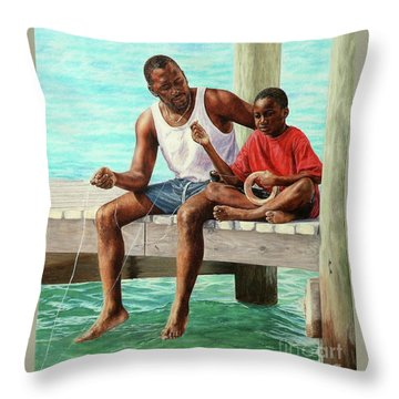 Together Time Throw Pillow