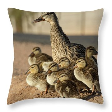 Together Time Throw Pillow by Sue Cullumber