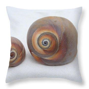 Togetherness Throw Pillow by Linda Sannuti