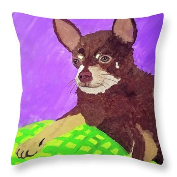 Token Date With Paint Mar 19 Throw Pillow