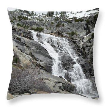 Tokopah Falls Throw Pillow