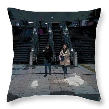 Tokyo Metro, Japan Poster Throw Pillow