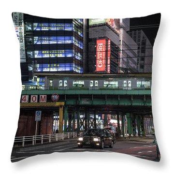 Tokyo Transportation, Japan Throw Pillow