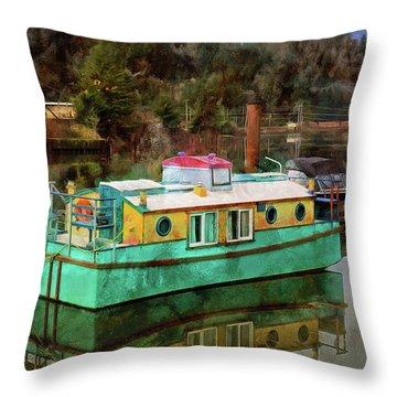 Toledo Showboat Throw Pillow