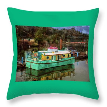 Toledo Showboat Throw Pillow