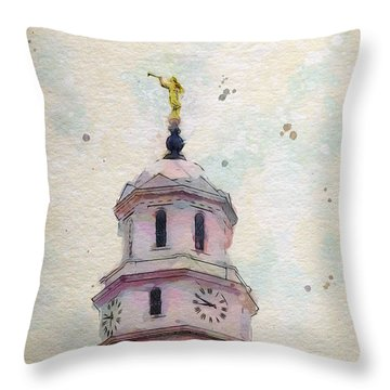 Tollel Maja Throw Pillow by Greg Collins