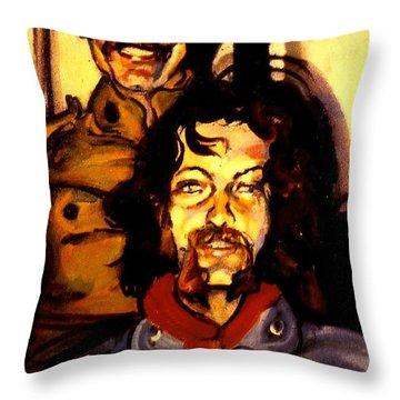 Tom And Doug Throw Pillow