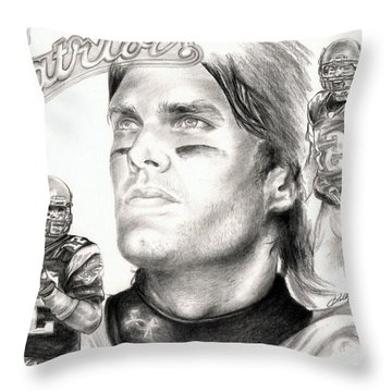 Tom Brady Throw Pillow