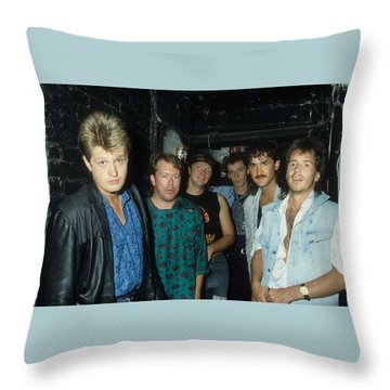 Tom Cochrane And Red Rider Throw Pillow