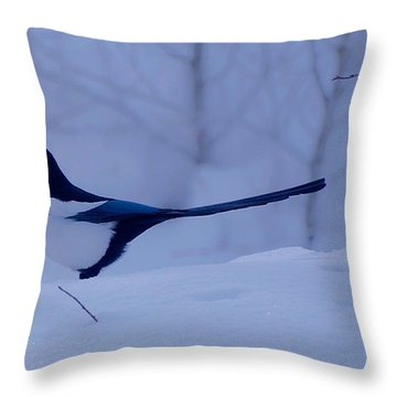 Tom Throw Pillow by Eric Tressler