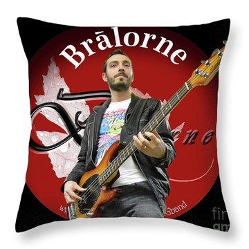 Tom Habchi Of Bralorne Throw Pillow