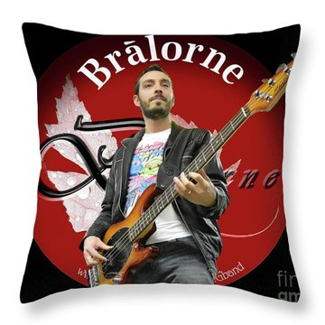 Tom Habchi Of Bralorne Throw Pillow