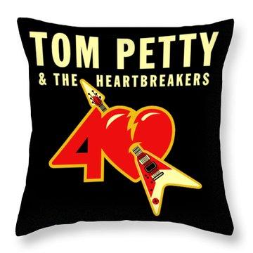 tom petty throw pillows fine art america. Black Bedroom Furniture Sets. Home Design Ideas
