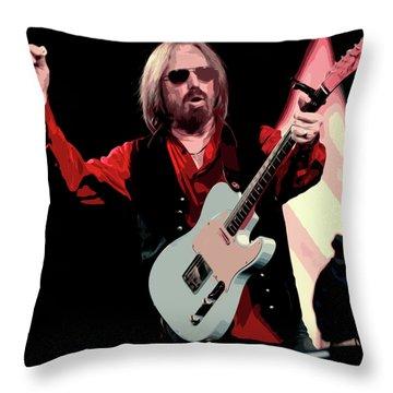 Tom Petty, Hypnotic Eye Throw Pillow
