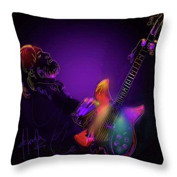 Tom Petty Tribute 1 Throw Pillow