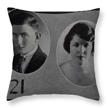 Tom Reitch Throw Pillow