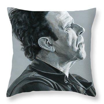 Tom Waits Throw Pillow