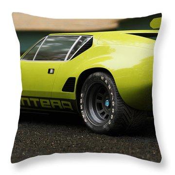 Tomaso  - Pantera 3 - Cgi -71 Throw Pillow