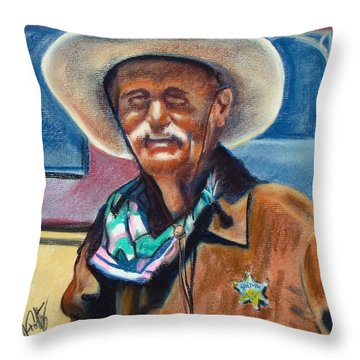 Tombstone Law Throw Pillow