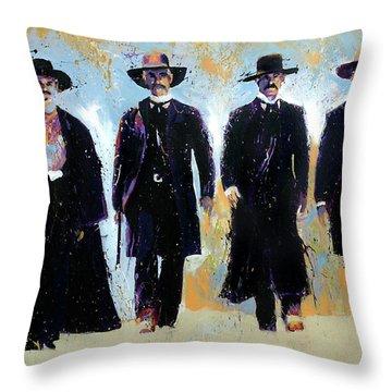 Tombstone Throw Pillow