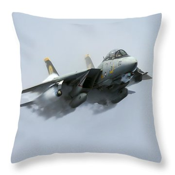 Tomcatters Broke The Sound Barrier Throw Pillow