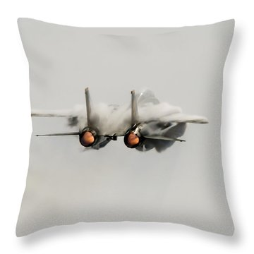 Tomcatters Out Of Here Throw Pillow