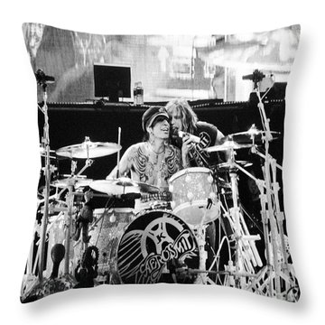 Tommy And Steven Throw Pillow