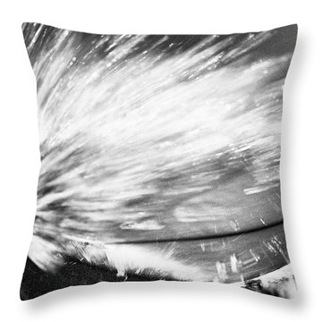 Throw Pillow featuring the photograph Tom's Board by Nik West