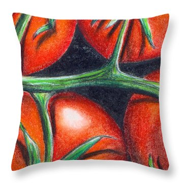 Toms On The Vine Throw Pillow
