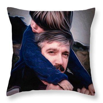 Tony And Rachel Throw Pillow