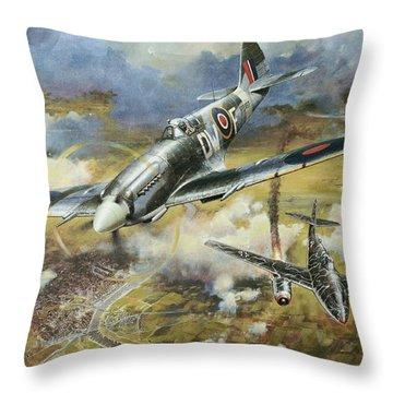 Tony Gaze Unsung Hero Throw Pillow