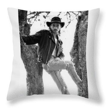 Tony Throw Pillow
