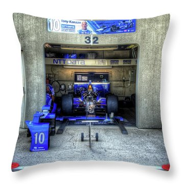 Tony Kanaan Indy Throw Pillow