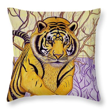 Tony Tiger Throw Pillow