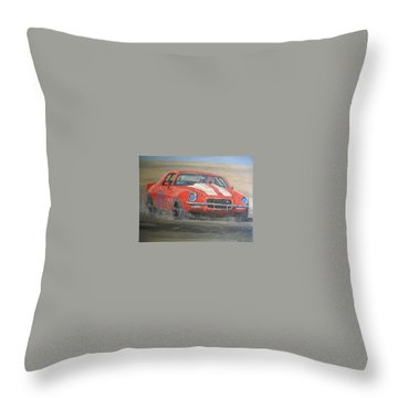 Tony's Camero Throw Pillow