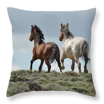 Too Beautiful Throw Pillow