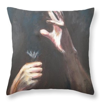 Too Late Throw Pillow