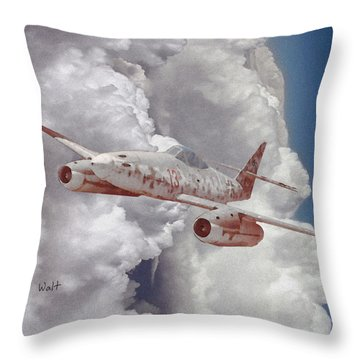 Too Little, Too Late Throw Pillow by Walter Chamberlain