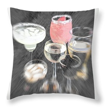 Throw Pillow featuring the photograph Too Many To Drive by Sherry Hallemeier