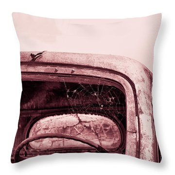 Throw Pillow featuring the photograph Too Old To Drive by Mary Hone